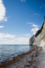 The cliffs of Mons Klint seen from the beach