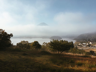 Japan - Mount Fuji With Lake Kawaguchi