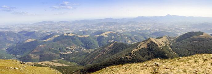 Panorama dal Monte Cucco (PG)