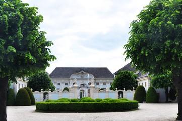 Fotobehang Kasteel Baroque palace castle Halbturn in Austria Burgenland