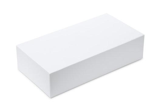 Whitel blank product box
