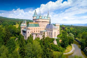 Poster de jardin Chateau Bojnice Castle in Slovakia