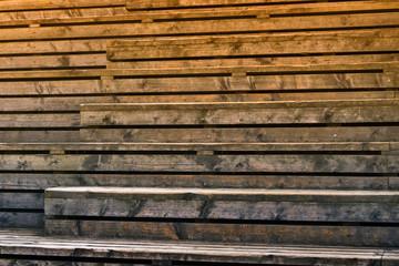 Holz Textur - Holztreppe
