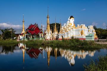 Myanmar - Inle See - Wasserbuddha Pagode