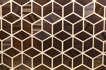 Wall Murals Geometric Tile texture background