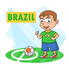 Boy sport football