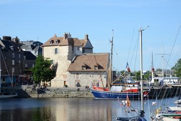 Hafen in Honfleur, Normandie