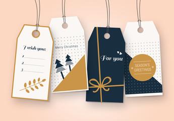 Christmas Gift Tag Set
