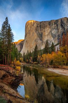 First Light, El Capitan, Yosemite National Park