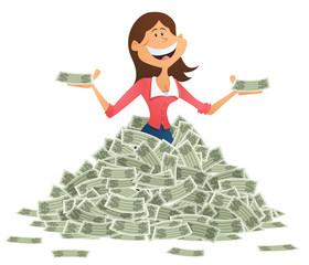 Rich Businesswoman