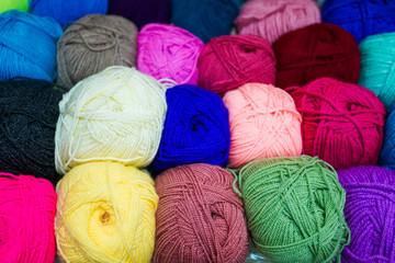 Yarn for knitting.  wool yarn