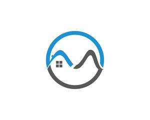 Real Estate Logo Design,Isolated Vector illustration
