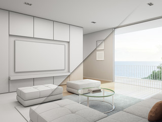 Sea view Living room with television in luxury beach house, Sketch House Sketch Design Television on house studio design, house art design, house painting design, house model design, house design blueprint, house autocad, sketchup house design, house template, product page design, house plans with furniture layouts, house green design, house layout design, house graphic design, green building design, house drawing, house study design, house construction, house perspective design, house light design, house architecture design,