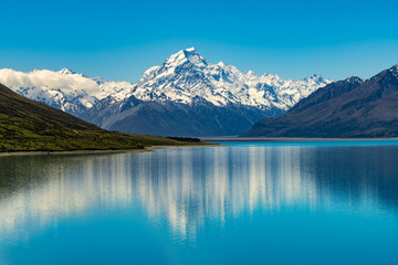 Mount Cook in New Zealand Wall mural