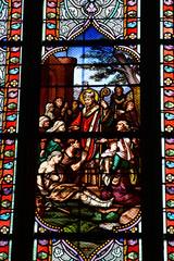 Le Croisic, France - april 12 2017 : Notre Dame de Pitie church