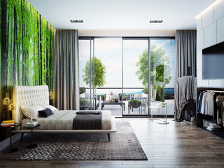 Bedroom İnterior design