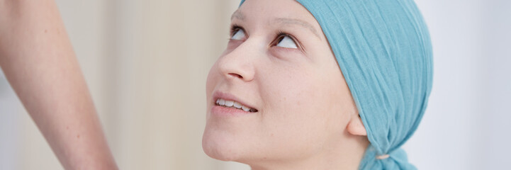 Woman and chemotherapy