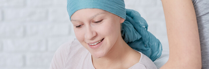 Cancer woman and treatment