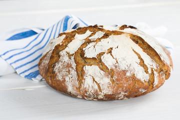 Fototapeta Domowy chleb na zakwasie obraz