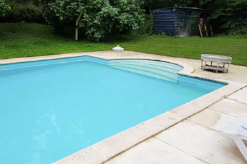 home house swimming pool in beautiful park