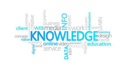Knowledge, Animated Typography
