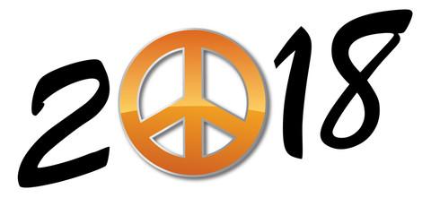2018 - paix - hippie - peace - manifestation - manifester