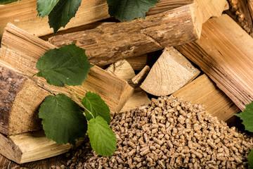 wooden pellet bio fuel