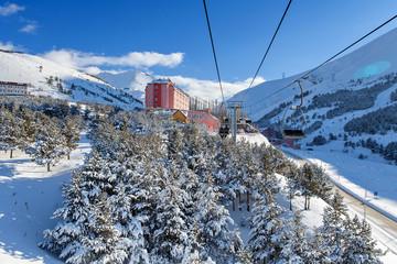 Palandoken, Erzurum, Turkey - Mountain skiing and snowboarding