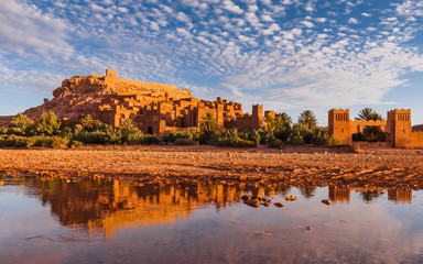 Kasbah in Ait-Ben-Haddou, Marokko