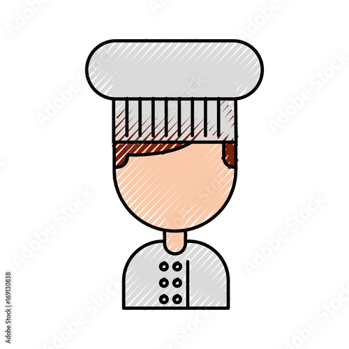 """hotel Chef Avatar Character Vector Illustration Design"