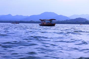 The West Lake, Hangzhou, China