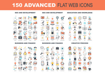 150 Colorful Icons 1
