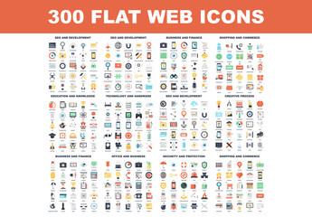 300 Colorful Icons 1