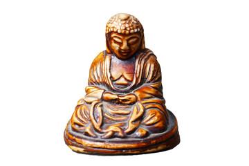 Buddha statue used as amulets of Buddhism religion