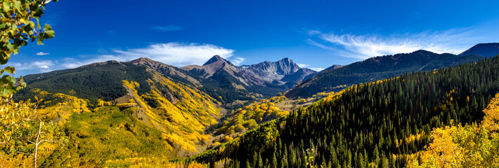 Fall Colors in Colorado Mountains