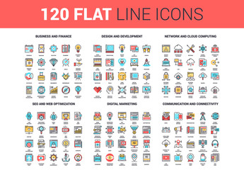 120 Colorful Icons 1