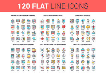 120 Colorful Icons 2