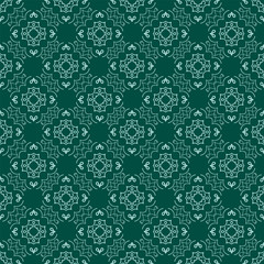 Vector classic vintage ornamental pattern. Seamless abstract background with repeating elements