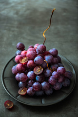 Fresh juicy grape