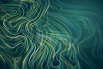 Abstract wave backdrop