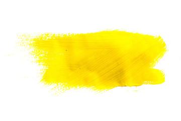 Gelb Wasserfarben Pinselstrich Muster