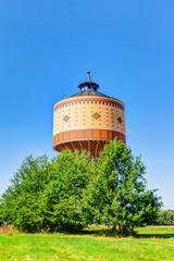 Wasserturm in Mittweida, Sachsen