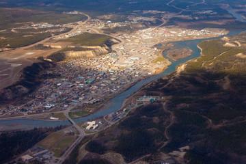 Downtown Whitehorse Yukon Territory Canada