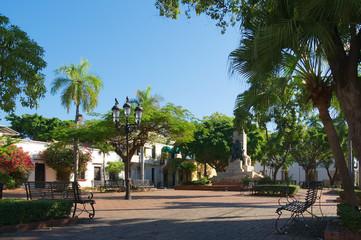 Dominican Republic - Santo Domingo - Tropical island of the Caribbean Sea - Parque Duarte