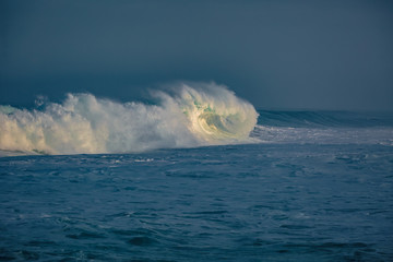 Storm waves in Ocean