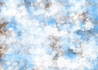 Abstract background blue and white