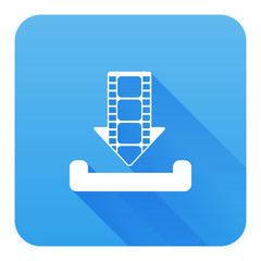 Download movie icon