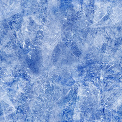 The background texture of blue ice. Icy pattern (rink).High-resolution seamless texture
