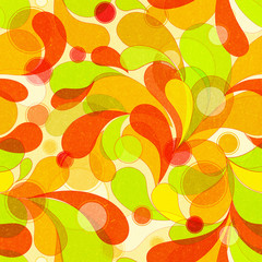 Abstract colorful arc-drop background.High-resolution seamless texture