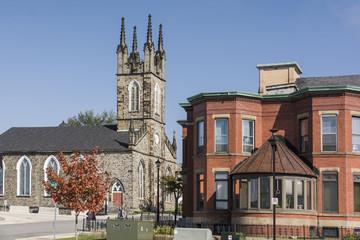 """Stone Church"" von Saint John in Kanada."